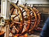 Shipswheel HMS Warrior 5570 (saxonfenken) Tags: 6972nautical 6972 nautical wheel ship hmswarrior