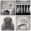 On This Day: 4 December 2015 - A Day at The Museum (FotoFling Scotland) Tags: sculpture elginmarbles britishmuseum london collage