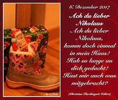 6. Dezember 2017 (Mr.Vamp) Tags: nikolaustag nikolaus advent adventskalender adventszeit mrvamp vamp