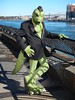 East River Komos (1) (C_Oliver) Tags: eastriver komos fursuit artslave komododragon costume joestrike america newyork manhattan eastriveresplanade river johnfinleywalk railings mohawk goatee medallion usa lizard reptile lizardman bridge bridges triboroughbridge robertfkennedybridge hellgatebridge fursuiter