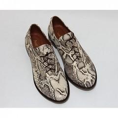 """Золотисто-коричневые туфли """"оксфорды"""" (azzafazzara) Tags: туфли обувь 40 42"""