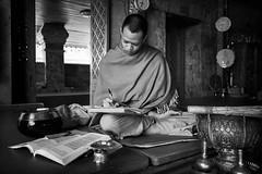 Wat Phrathat Doi Suthep (alfonstr) Tags: tailandia thailand thailandia temple buddhist buddhism buddha religion monk bnw bw asia alfons alfonstr canon chiang mai chiangmai