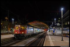 SBB 421 392, St. Gallen 18-05-2017 (Henk Zwoferink) Tags: sanktgallen zwitserland ch ic sbb cargo 421 slm abb re44 henk zwoferink 392