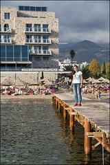 096 BUDVA (ninaiznaizena) Tags: budva montenegro crnagora balkaneak balkans europa gaztelua gotorlekua fortress hondartza beach itsasoa sea mediterraneo adriatikoa adriatic ninaiznaizena
