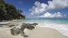 Anse Georgette rock (PSK pix) Tags: seychelles island islands beach beaches tropical tropics sea seascape seaside ocean palm tree trees cloud clouds landscape paradise paul knipe pskpix psk pix indian anse georgette praslin