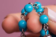 365-316 (Letua) Tags: 365project macromondays beans dedo finger fingertips metal nail turquesa turquoise uña yema