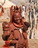 IMGP1302 Himba Mother and Child (Claudio e Lucia Images around the world) Tags: himbavillage himba nakedhimba himbavilage kunene epupafalls epupa namibia pentax pentaxart pentax55300 ritratto persone mother child tits nakedwoman remote village