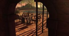 Home (Osiris LeShelle) Tags: secondlife second life avilion gwynfa home patio terrace sim arch