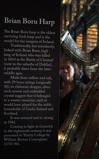 Dublin Ireland Trinity Colleges'  Brian Boru Harp     SAM_4909