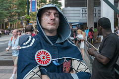 (jwcjr) Tags: atlantaga atlantapeople dragoncon dragoncon2015 people atlanta man face portrait streetportrait fuji costume