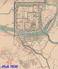 Bản đồ Huế 1930 (manhhai) Tags: