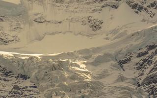 Sunlight on Glacier