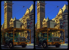 Old Town Hall, Toronto 3-D / CrossEye / Stereoscopy / HDR / Raw (Stereotron) Tags: north america canada province ontario toronto to tdot hogtown thequeencity thebigsmoke torontonian downtown financialdistrict crosseye crosseyed crossview xview cross eye pair freeview sidebyside sbs kreuzblick 3d 3dphoto 3dstereo 3rddimension spatial stereo stereo3d stereophoto stereophotography stereoscopic stereoscopy stereotron threedimensional stereoview stereophotomaker stereophotograph 3dpicture 3dglasses 3dimage twin canon eos 550d yongnuo radio transmitter remote control synchron kitlens 1855mm tonemapping hdr hdri raw