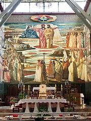 13 - Angyali üdvözlet temploma - főoltár / Bazilika Zvestovania - oltár
