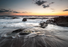 Parton summer sunset (alf.branch) Tags: westcumbria water waves wave cumbria clouds sea seaside seawaves seascape seaweed seashore irishsea alfbranch olympus olympusomdem5mkii zuiko zuiko918mmf456ed beach motion motionintheocean