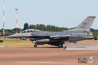 90-0813 United States Air Force General Dynamics F-16CM Fighting Falcon