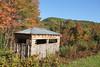 Vermont Bird Hide (ƒliçkrwåy) Tags: bird hide blind huntington vermont vt nature building newengland fall