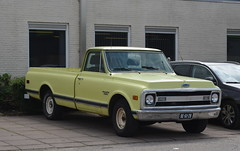 1970 Chevrolet C10 BE-61-28 (Stollie1) Tags: 1970 chevrolet c10 be6128 woerden