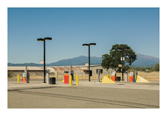 new station (philippe*) Tags: station gas california redding