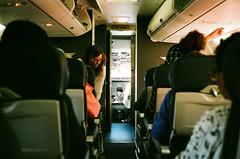 Flight (bior) Tags: portra kodakportra portra400 airplane leicam3 leica flight summaron