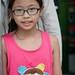A cute young Vietnamese girl, Ho Chi Minh City, Saigon, Vietnam