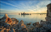Mono Lake (jeanny mueller) Tags: usa southwest california leevining monolake tufa sea lake sunrise clouds stone landscape seascape heaven