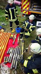 DSC_0669 (Feuerwehr Weblog) Tags: tiefbau tiefbauunfälle trench rescue technicalrescue technische hilfeleistung feuerwehr reiskirchen