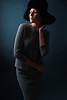 (mrksaari) Tags: d750 model fashion portrait studio turbox helsinki finland profoto hat blue 2470mmf28g