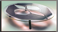 TableD50 (Ke7dbx) Tags: furniture furnituredesign productdesign industrialdesign metal glass cg cgi design arts art artistic