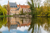 Reflections in Bruges (Jill Clardy) Tags: belgium bruge brugge europe location vantagetravel bruges water lake reflections architecture cloudy red brick 201704044b4a2808 minnewater explore explored