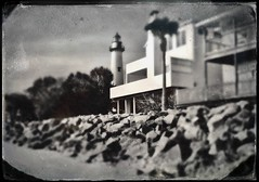 """Lighthouse 1 Tintype • <a style=""""font-size:0.8em;"""" href=""""http://www.flickr.com/photos/97423979@N00/26748786279/"""" target=""""_blank"""">View on Flickr</a>"""