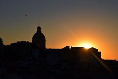 Sunrise over Lisbon, Portugal (swbsnaps) Tags: sunrise portugal lisbon sun birds silhouette black orange beautiful