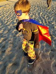 SuperBatman (quinn.anya) Tags: sam preschooler superman superhero sunset edgartown marthasvineyard batman