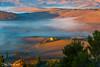 toscana4R-5 (Stanislav Don Simon) Tags: agro castle cloud fog italy sky sunrise sunset true tuscany деревня дерево закат замок италия небо облака пашня поле рассвет тоскана