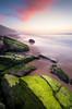 Praia Pequena do Rodízio (Aljaž Vidmar   ADesign Studio) Tags: praia wideangle landscape sunset d800 nature clouds longexposure beach smooth nisifilters atlantic sintra uwa gnd portugal seascape rocks