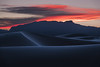 White Sands Sunset (mitalpatelphoto) Tags: adventure clouds desert dunes earth explore horizontal landscape nature newmexico nikon orange photography sand sanddunes sunset travel usa visit white whitesandsnationalmonument tularosa unitedstates us