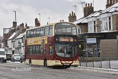 East Yorkshire 733, YX08FYG. (EYBusman) Tags: east yorkshire motor services eyms hull bus coach quay road bridlington snow hornsea depot wright eclipse gemini volvo b9tl yx08fyg eybusman