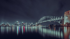 this city (bart.kwasnicki) Tags: sydney australia nightscape night cityscape city cityview operahouse harbourbridge harbour ocean panorama