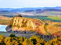 HADRIAN'S WALL (pajacksonartist) Tags: hadrians wall hadrian roman emperor rome empire cliff cliffs history historic landscape english heritage northumbria northumberland