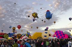 Albuquerque Balloon Fiesta 27 (rschnaible) Tags: albuquerque balloon fiesta festival hot air new mexico flight travel transportation sport outdoor color colorful