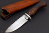 Hunter with Filework and Desert Ironwood (Sxott Nagy) Tags: knifemaking knives knife filework desert ironwood customknives customknife
