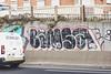 Bansa (lanciendugaz) Tags: graffiti graff paris spray spraycan autoroute a4 vandalisme vandal chrome couleur lettrage roulo hauteur block crew tags tag taggeurs graffeurs negatif spot