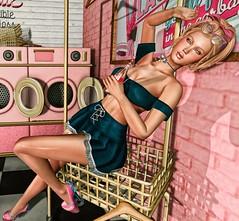 Laundry Day (eloen.maerdrym) Tags: eloensotherworld 40s retro laundry astralia releases roleplay af lesixevent lesix sales amarabeauty enchantment austris arise glamistry elephanteposes cubiccherrykreations rewind truthhair