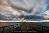 321/365 - Whiterock Sunrise (Jacqueline Sinclair) Tags: whiterock clouds sky sunrise sun rise morning ocean sea pier dock pacific boardwalk