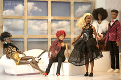 the fashion crew (photos4dreams) Tags: dolls11112017p4d barbie mattel doll toy diorama photos4dreams p4d photos4dreamz barbies girl play fashion fashionistas outfit kleider mode puppenstube tabletopphotography aa beauties beautiful girls women ladies damen weiblich female funky afroamerican afro schnitt hair haare afrolook darkskin africanamerican canoneos5dmark3 normal body april wellrounded curvy dvx79 normalbody