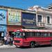 Street scene in Guatemala-City's center Zone 1