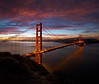 Thanksgiving Sunrise (n8sk8) Tags: batteryspencer bayarea bridge california canon5dmk4 escaype fall goldengate goldengatebridge marinheadlands norcal northerncalifornia outdoors sanfrancisco sanfranciscobay sunrise millvalley unitedstates us