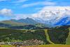 Les  Saisies© et le Massif du Mt Blanc à l'horizon (philippedaniele) Tags: lessaisies massif du mt blanc montagne pistes