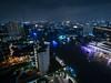 Night Cruise (H.H. Mahal Alysheba) Tags: wide night city cityscape river chaophraya bangkok thailand water urban lumix gx7 lumixg 714mmf40