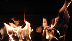 Camberley 23 November 2017 013 - 2 (paul_appleyard) Tags: opposites ice icecube cube flame flames fire flickrfriday xperia premium melting melt